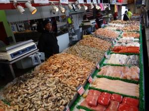 étales fournies du Fish Market