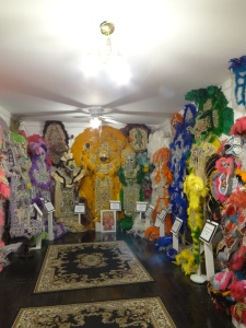 Backstreet museum Mardi Gras