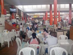 Marché et ses restaurants