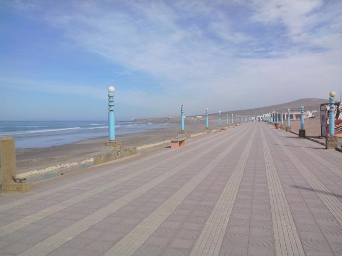 Promenade d'Aglou Plage