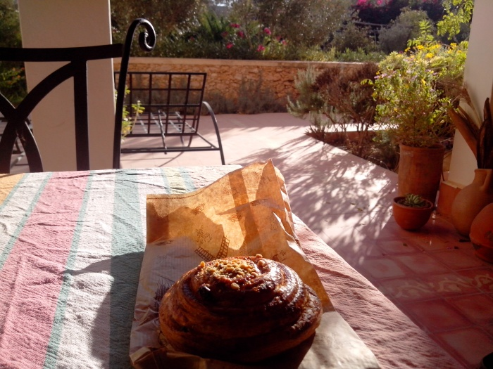 Viennoiserie de la pâtisserie la Joconde, Tiznit, Maroc